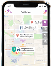 Use UBMe App To Check-In and Chat